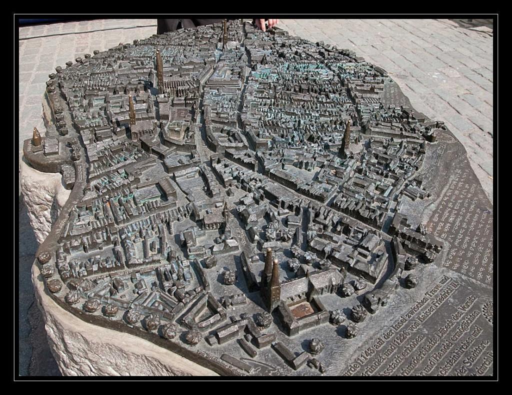 Gesamtes Tastmodell der Hansestadt Lübeck
