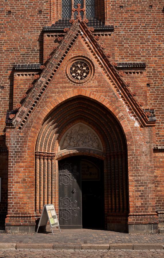 Foto: Der Eingang zu St. Marien