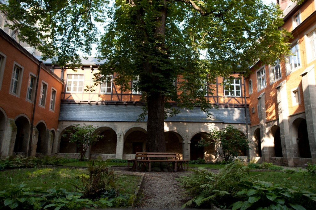 Innenhof des Kloster Pforta