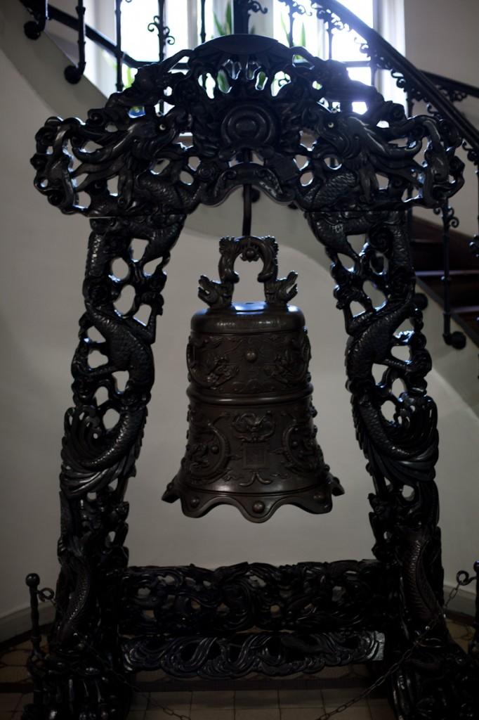 Eine Glocke aus dem Glockenmuseum in Apolda