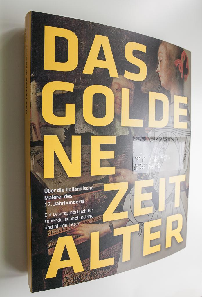 Foto: Cover des Lese-Tast-Hörbuchs - Das Goldene Zeitalter